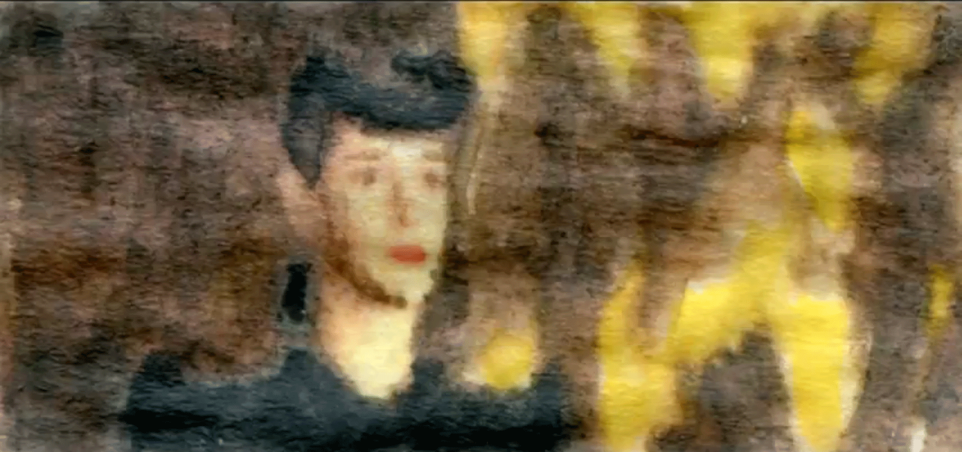 Blade Runner à l'aquarelle