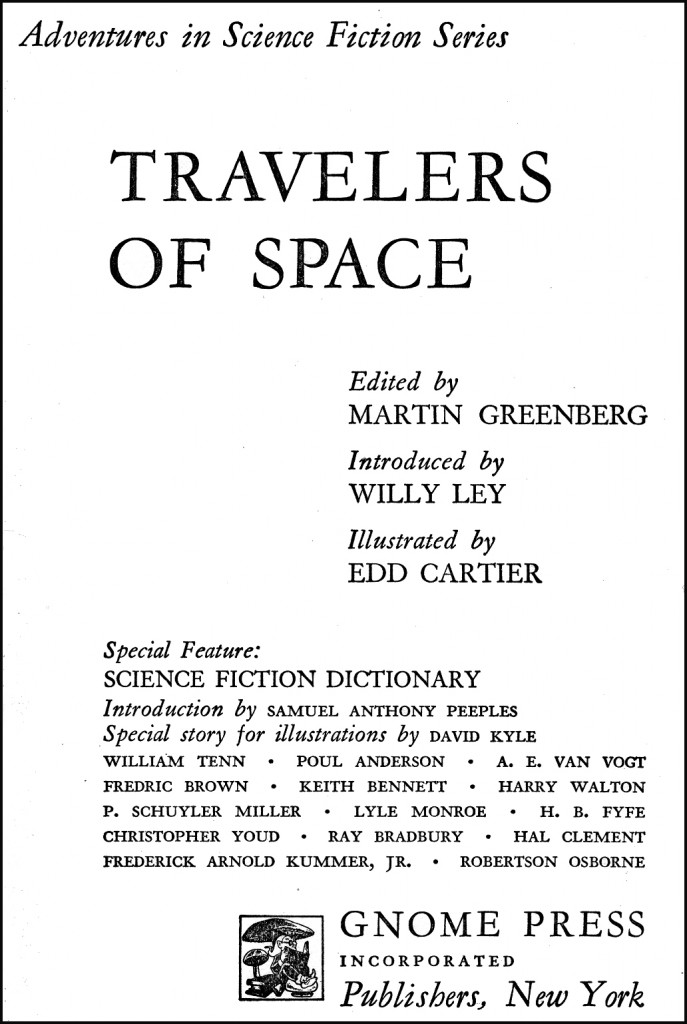 Travelers of Space