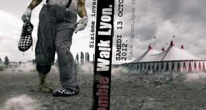 Découvrez l'affiche officielle de la sixième Zombie Walk de Lyon 2012