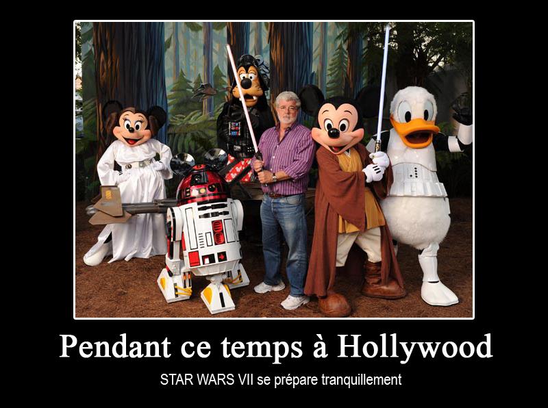 Star Wars 7 pour 2015, Disney rachète LucasFilm