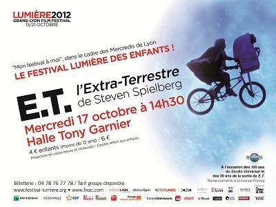 Le festival Lumière des enfants présente E.T. L'Extra-Terrestre le mercredi 17 octobre