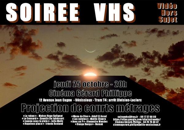 Soirée VHS du 25 octobre 2012