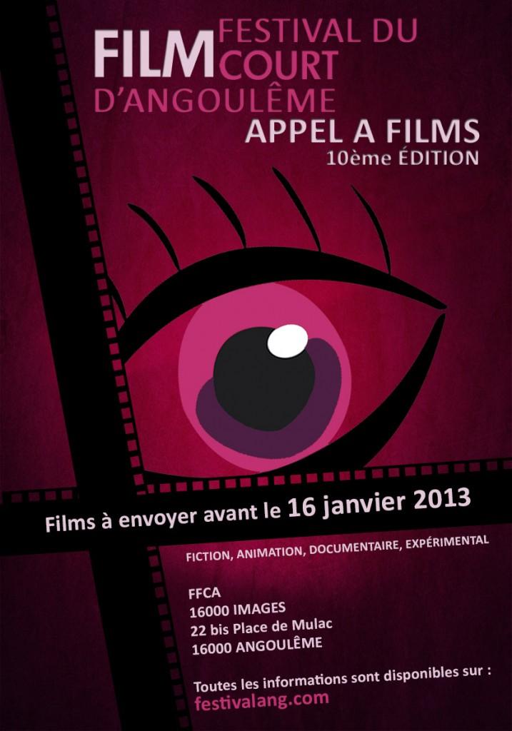Appel à films : Festival du Film court - Angoulême