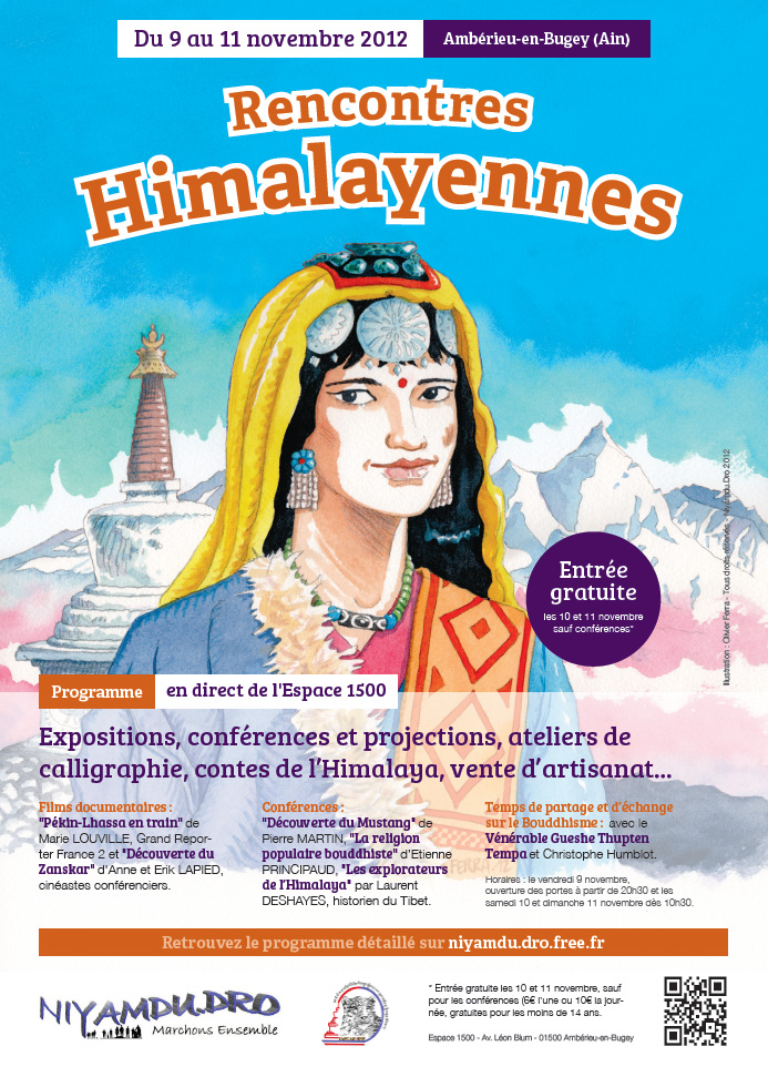 affiche Rencontres himalayennes