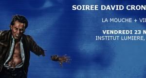 L'Épouvantable Vendredi # 17 : soirée David Cronenberg, Vendredi 23 Novembre à l'Institut Lumière