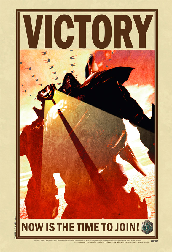 Pacific Rim Invasion Victory Poster