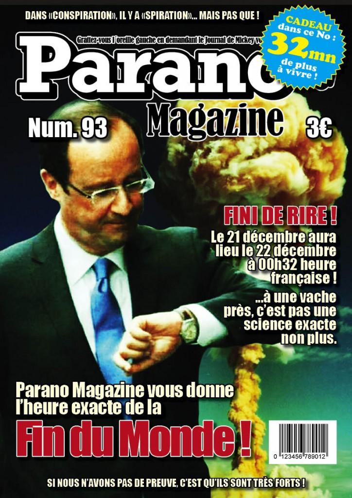 Parano Magazine Fin du Monde