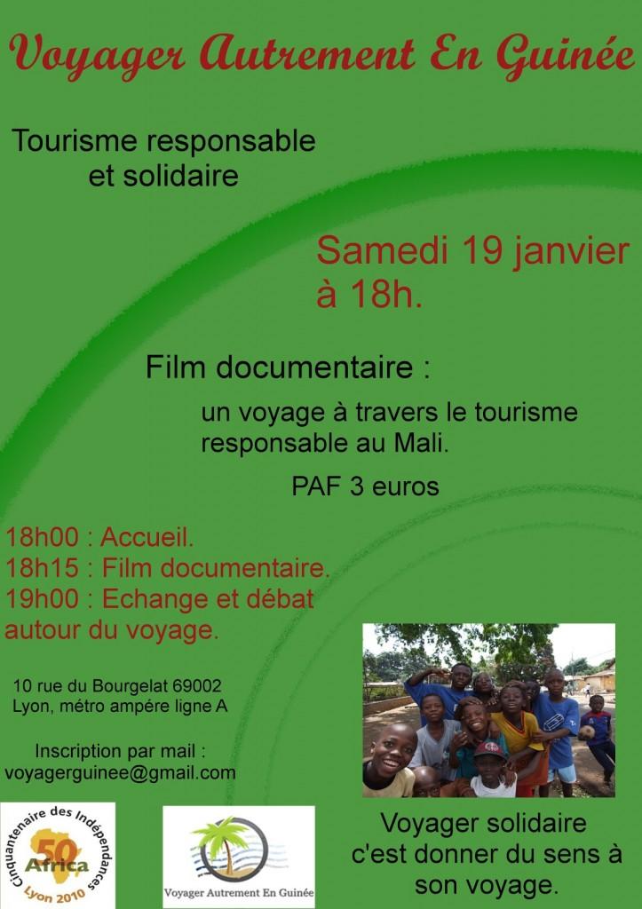 Film documentaire : un voyage à travers le tourisme responsable au Mali.