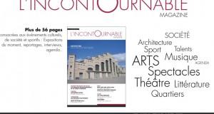 Après le lancement papier, L'incontournable lance son magazine culturel en vidéo !