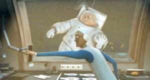 Un très court-métrage SF #29 : «Un petit plat pour l'homme» de Corentin Charron, film très épicurien sur la cuisine