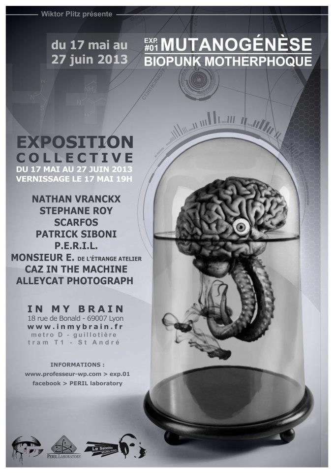 Exposition BioPunk @ Galerie du Tattoo Shop  | Lyon | Rhne-Alpes | France