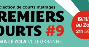 Premiers Courts #9 : Projection de courts-métrages au cinéma le Zola le mardi 19 novembre !