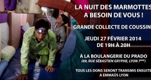 La Nuit des Marmottes : soirée hibernation et projections le jeudi 27 février 2014 à Lyon !