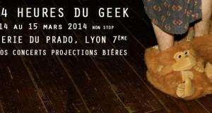 Les 24 heures du Geek reviennent les 14 et 15 mars à la Boulangerie du Prado !
