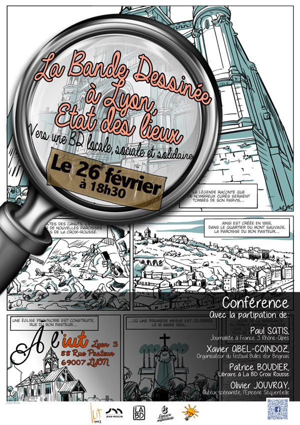 Conférence BD solidaire