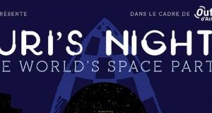 La Yuri's Night Lyon : Images rétro, arts futurs et laboratoire de l'Espace le dimanche 12 avril au Planétarium de Vaulx-en-Velin !