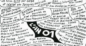 Les Inattendus : Projection le 9 mars de «L'an 01» de Jacques Doillon (1973)