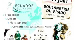 Projections : Soirée Amérique du Sud – Samedi 11 Juin, 20h, Boulangerie du Prado, Lyon 7ème