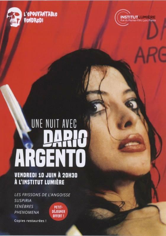 Nuit Dario Argento