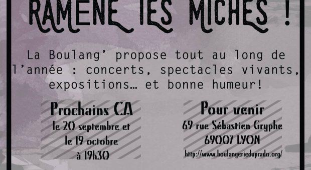 Appel à bénévoles : Envie de s'investir dans un lieu culturel de Lyon, de faire des rencontres ?