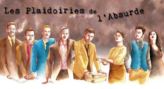 Les Plaidoiries de l'Absurde, la série Lyonnaise politico-humouristique avec la voix d'Harrison Ford (Richard Darbois)