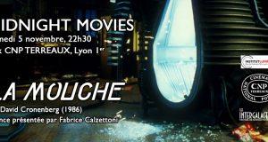 La Mouche en projection Midnight Movie ce samedi 5 novembre au CNP Terreaux !