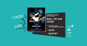 Séance spéciale Le Booooom : «Gremlins» le samedi 20 mai 2017 | CinéDuchère