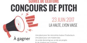 Concours de pitch de scénarios à Lyon en juin !