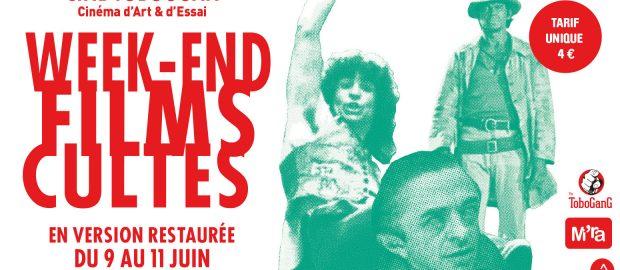 Week end Films Cultes en version restaurée | Du 9 au 11 juin, Ciné Toboggan à Décines