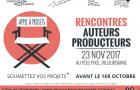 Appel à projets : Rencontre Auteurs-Producteurs à Lyon !